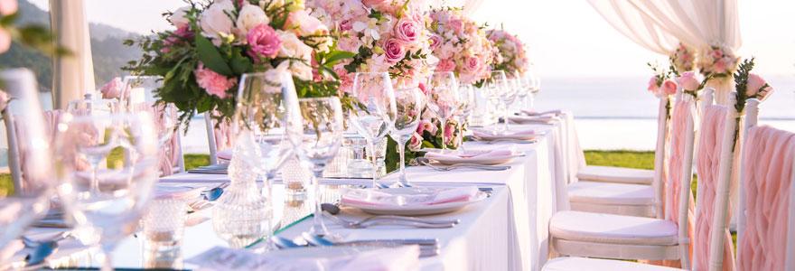 Idées de décoration de mariage personnalisé