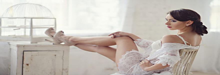 lingerie pour la nuit de noce
