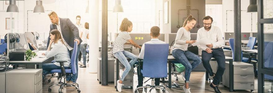 Aménagement de bureaux d'entreprise