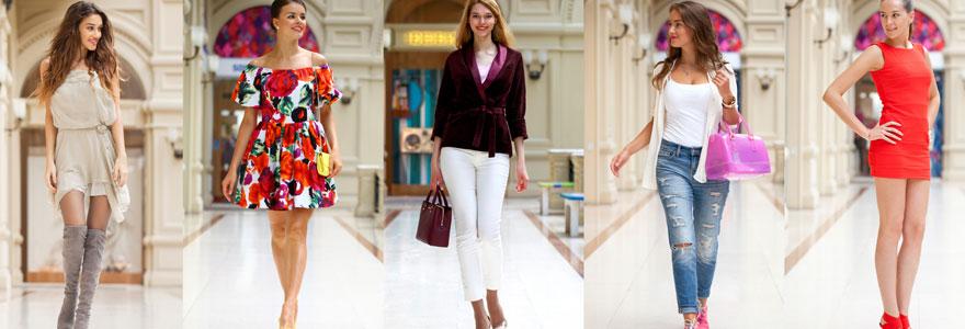 Vêtements de mode de haute qualité