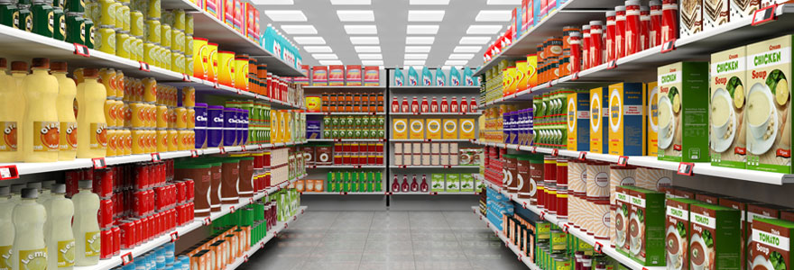 Achat de produits d'épicerie américains importés