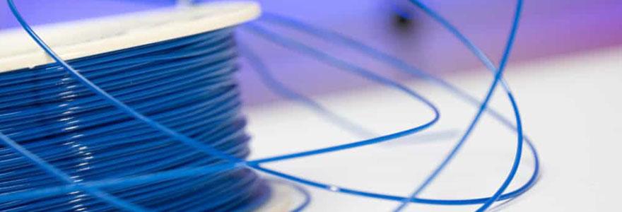 Filament extrudé pour impression 3D